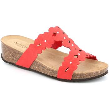 kengät Naiset Sandaalit Grunland CB2491 Punainen