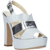 kengät Naiset Sandaalit ja avokkaat Esther Collezioni ELE 084 Hopea