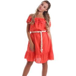 vaatteet Naiset Lyhyt mekko Liu Jo FA0173 T4191 Oranssi