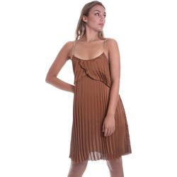 vaatteet Naiset Lyhyt mekko Liu Jo FA0032 T5957 Ruskea