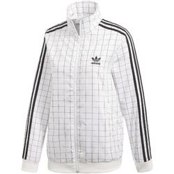 vaatteet Naiset Ulkoilutakki adidas Originals CE1734 Valkoinen