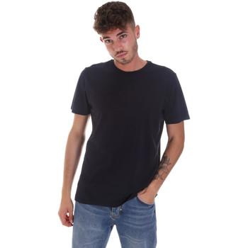 vaatteet Miehet Lyhythihainen t-paita Navigare NV31128 Sininen