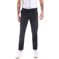 vaatteet Miehet Chino-housut / Porkkanahousut Les Copains 9U3320 Sininen