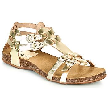kengät Naiset Sandaalit ja avokkaat Kickers ANA Kulta