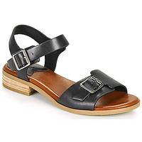 kengät Naiset Sandaalit ja avokkaat Kickers BUCIDI Musta