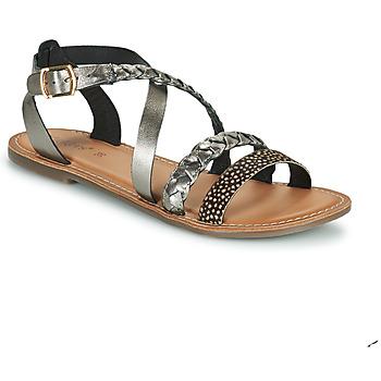 kengät Naiset Sandaalit ja avokkaat Kickers DIAPPO Pronssi