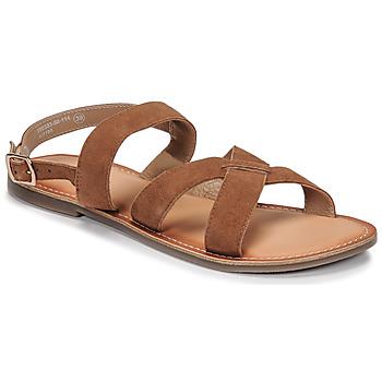kengät Naiset Sandaalit ja avokkaat Kickers DIBA-2 Kamelinruskea