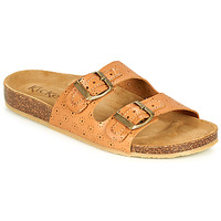kengät Naiset Sandaalit Kickers ECOLOG Kamelinruskea / Clear