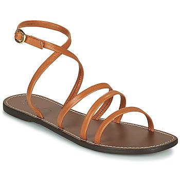 kengät Naiset Sandaalit ja avokkaat Kickers KICKNICE Kamelinruskea