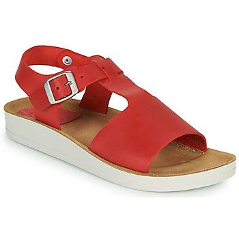 kengät Naiset Sandaalit ja avokkaat Kickers ODILOO Punainen