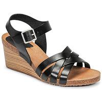 kengät Naiset Sandaalit ja avokkaat Kickers SOLYNIA Musta