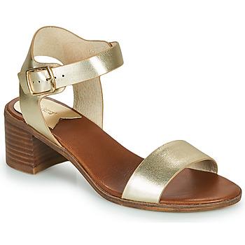 kengät Naiset Sandaalit ja avokkaat Kickers VOLOU Kulta