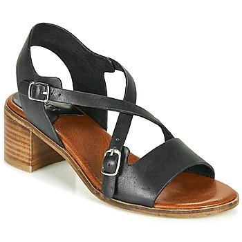 kengät Naiset Sandaalit ja avokkaat Kickers VOLUBILIS Musta