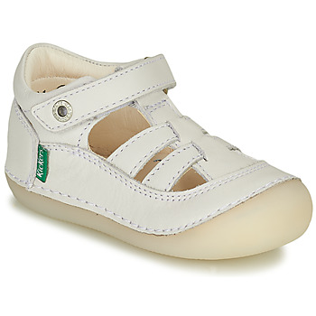 kengät Tytöt Balleriinat Kickers SUSHY Valkoinen