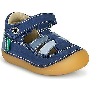 kengät Pojat Sandaalit ja avokkaat Kickers SUSHY Sininen