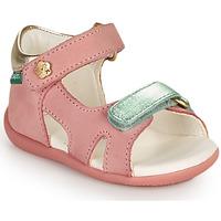 kengät Tytöt Sandaalit ja avokkaat Kickers BINSIA-2 Vaaleanpunainen