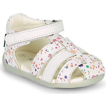 kengät Tytöt Sandaalit ja avokkaat Kickers BIGFLO-2 Valkoinen