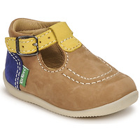kengät Pojat Sandaalit ja avokkaat Kickers BONBEK-2 Beige / Keltainen / Laivastonsininen