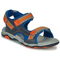 kengät Pojat Sandaalit ja avokkaat Kickers KIWI Sininen / Oranssi