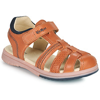 kengät Pojat Sandaalit ja avokkaat Kickers PLATINIUM Camel