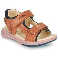 kengät Pojat Sandaalit ja avokkaat Kickers PLATINO Camel