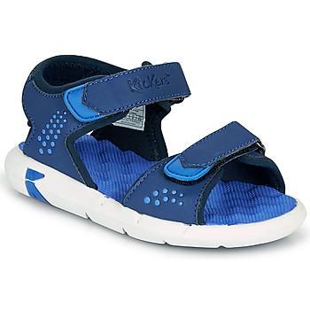 kengät Pojat Sandaalit ja avokkaat Kickers JUMANGAP Sininen