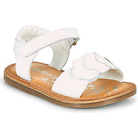 kengät Tytöt Sandaalit ja avokkaat Kickers DYASTAR Valkoinen