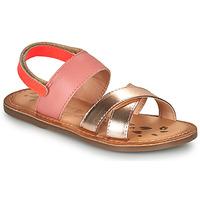 kengät Tytöt Sandaalit ja avokkaat Kickers DYACROSS Vaaleanpunainen