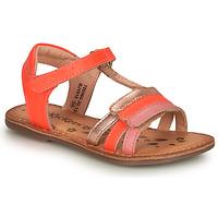 kengät Tytöt Sandaalit ja avokkaat Kickers DIAMANTO Pink