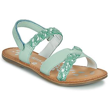 kengät Tytöt Sandaalit ja avokkaat Kickers DIMDAMI Sininen