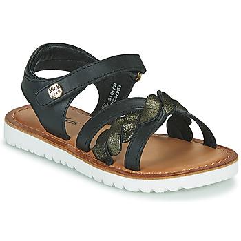 kengät Tytöt Sandaalit ja avokkaat Kickers BETTYL Musta