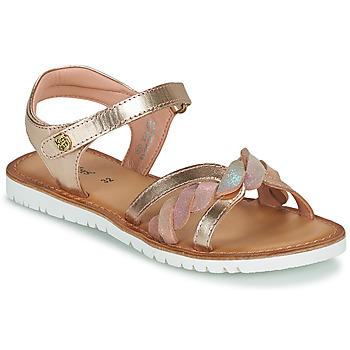 kengät Tytöt Sandaalit ja avokkaat Kickers BETTYL Vaaleanpunainen