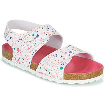 kengät Tytöt Sandaalit ja avokkaat Kickers SUMMERKRO Vaaleanpunainen