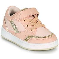 kengät Tytöt Matalavartiset tennarit Kickers BISCKUIT Vaaleanpunainen