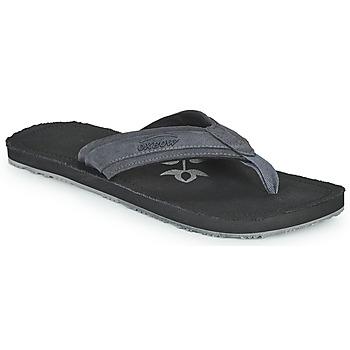 kengät Miehet Varvassandaalit Oxbow VALLY Musta