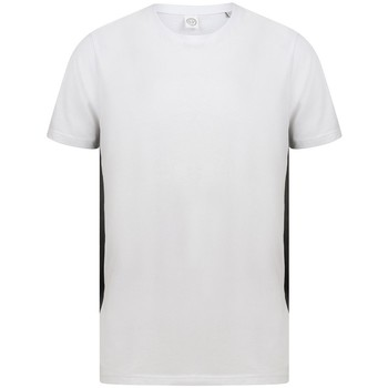 vaatteet Lyhythihainen t-paita Sf SF253 White/Black