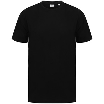 vaatteet Lyhythihainen t-paita Sf SF253 Black/White