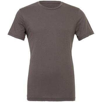 vaatteet Lyhythihainen t-paita Bella + Canvas CV3001 Asphalt