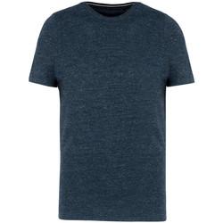 vaatteet Miehet Lyhythihainen t-paita Kariban Vintage KV2106 Night Blue Heather