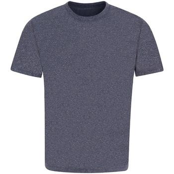 vaatteet Lyhythihainen t-paita Awdis JC004 Navy Urban Marl