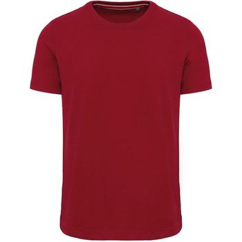 vaatteet Miehet Lyhythihainen t-paita Kariban Vintage KV2106 Vintage Dark Red