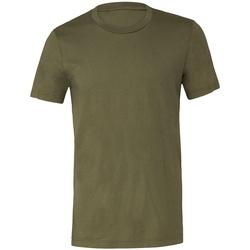 vaatteet Lyhythihainen t-paita Bella + Canvas CV3001 Military Green
