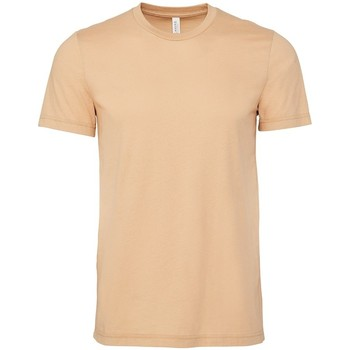vaatteet Lyhythihainen t-paita Bella + Canvas CV3001 Sand Dune