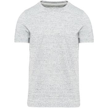 vaatteet Miehet Lyhythihainen t-paita Kariban Vintage KV2106 Ash Heather Grey