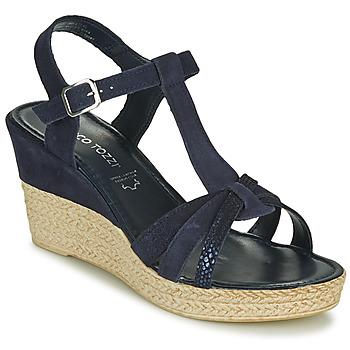 kengät Naiset Sandaalit ja avokkaat Marco Tozzi ANNA Laivastonsininen