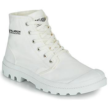 kengät Bootsit Palladium PAMPA HI ORGANIC II Valkoinen