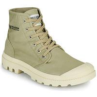 kengät Bootsit Palladium PAMPA HI ORGANIC II Vihreä