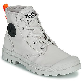 kengät Naiset Bootsit Palladium PAMPA HI TWILL Harmaa