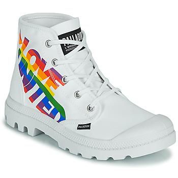 kengät Bootsit Palladium PAMPA HI PRIDE Valkoinen / Monivärinen