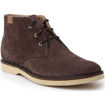 kengät Miehet Bootsit Lacoste Sherbrooke HI 14 SRM 7-30SRM0025176 brown